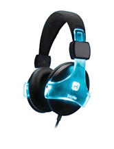 iHome Color-Changing Rechargeable Headphones with Microphone