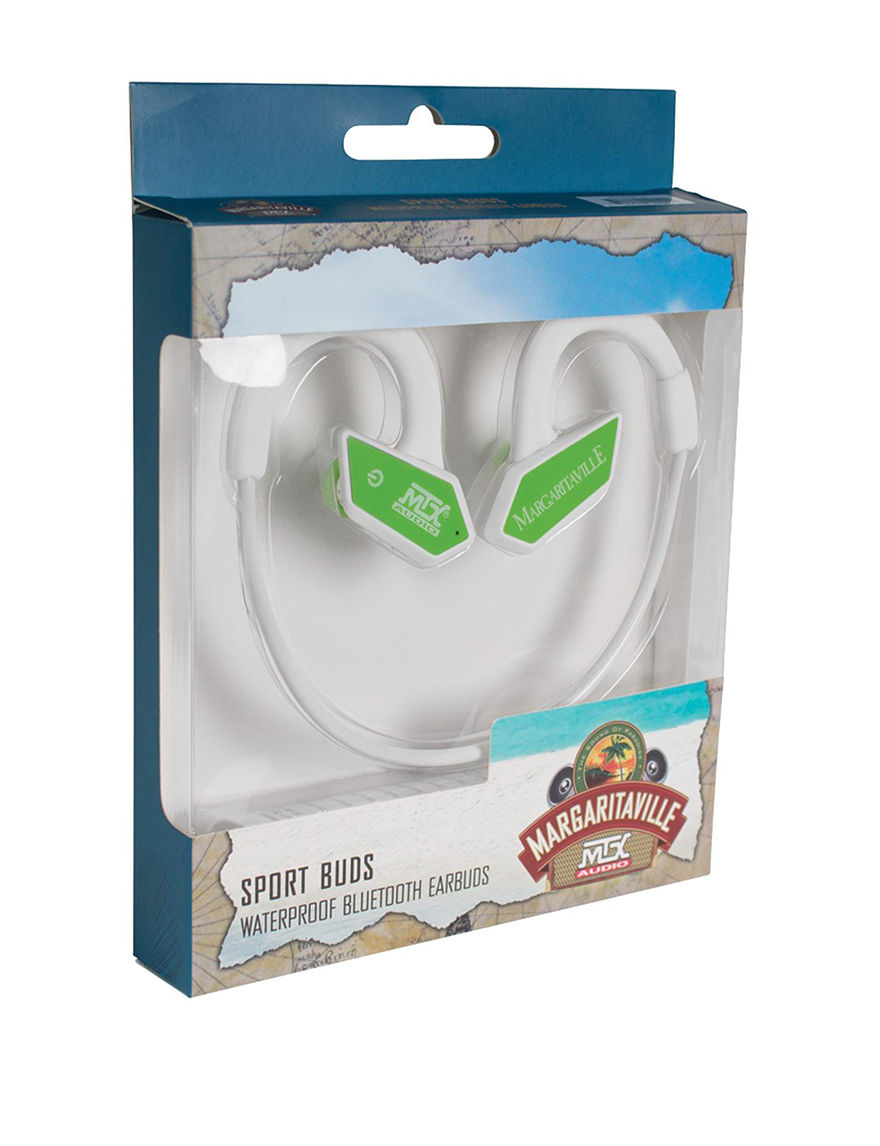 Margaritaville Green Headphones
