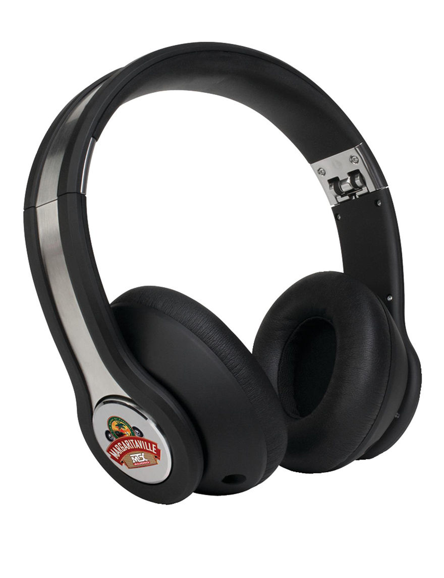 Margaritaville Black Headphones