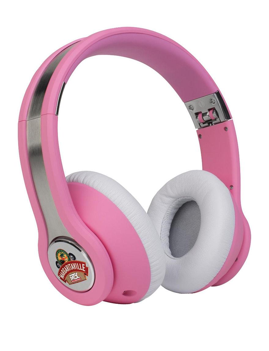 Margaritaville Pink Headphones