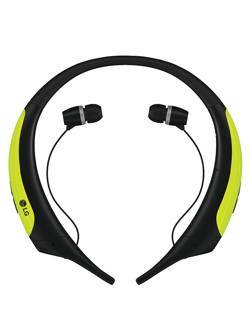 LG Lime Headphones Home & Portable Audio