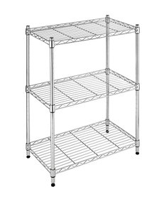 Whitmor Supreme Small 3-Tier Shelves