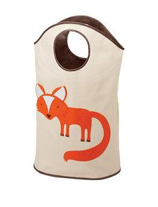 Whitmor Kids Fox Canvas Hamper Tote