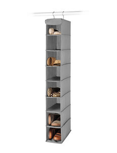Whitmor Dorm Hanging Grey Shoe Shelf