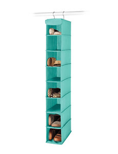 Whitmor Dorm Hanging Turquoise Shoe Shelf