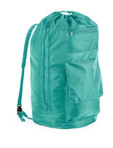 Whitmor Dorm Turquoise Backpack Laundry Bag