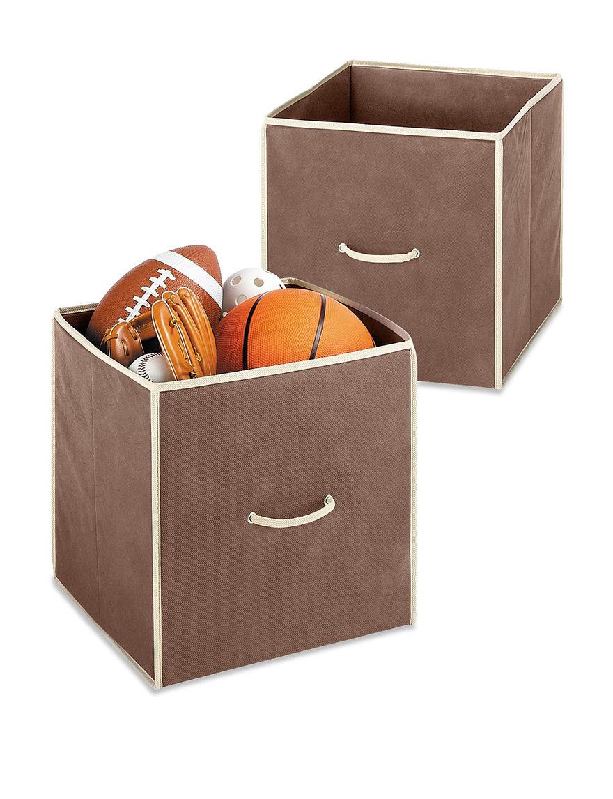 Whitmor Brown Cubbies & Cubes Storage & Organization