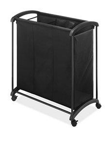 Whitmor Black Laundry Hampers Irons & Clothing Care