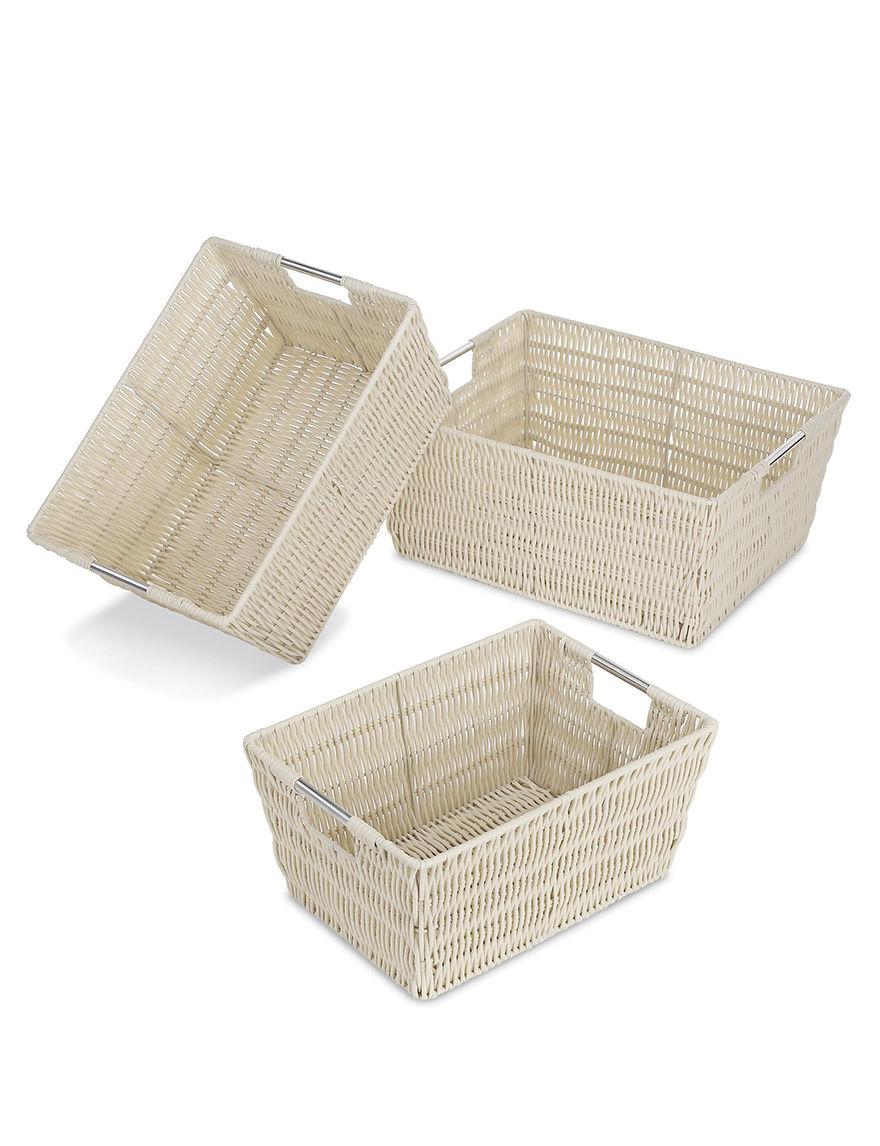 Whitmor Latte Storage Bags & Boxes Storage & Organization