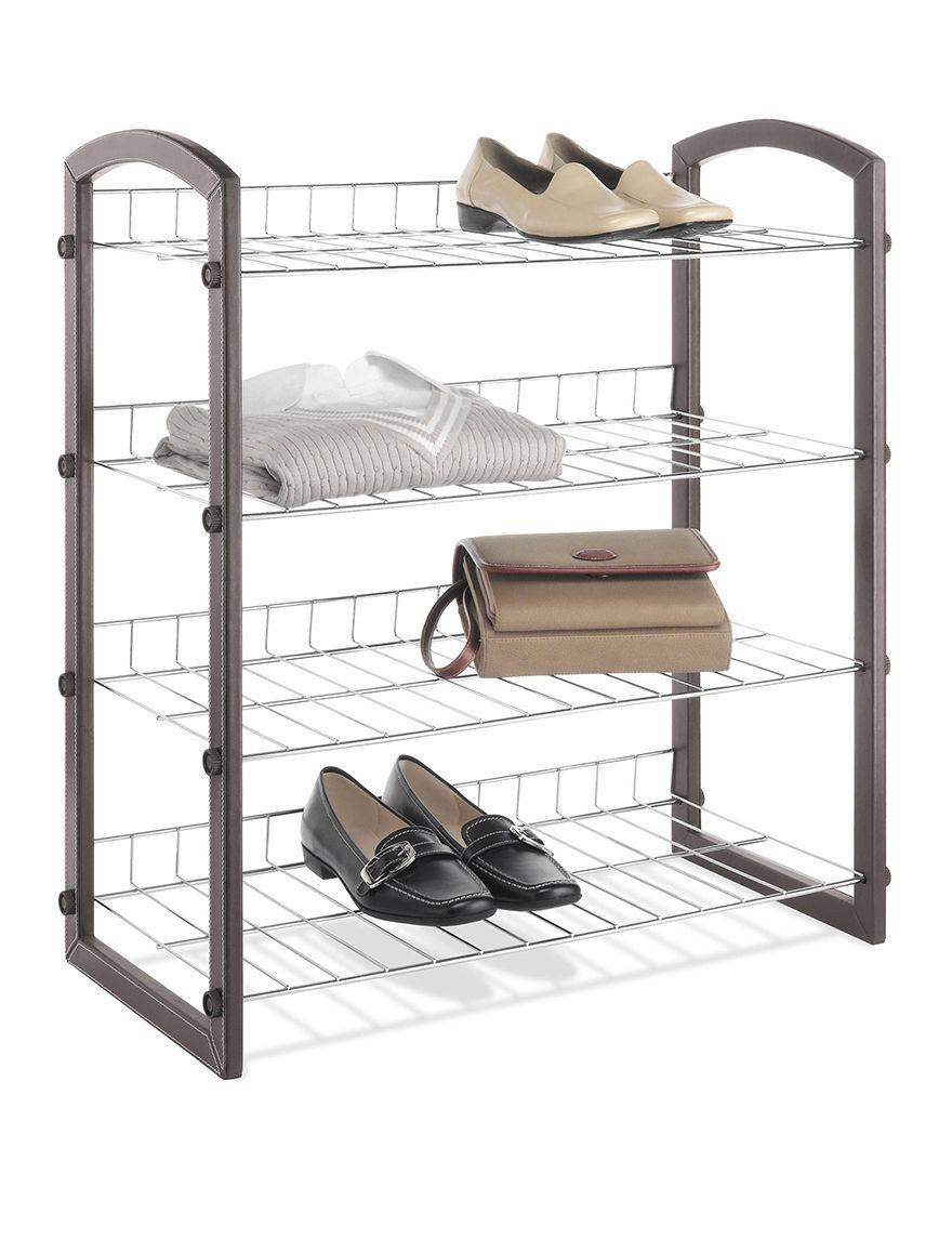 Whitmor Brown Storage Shelves Storage & Organization