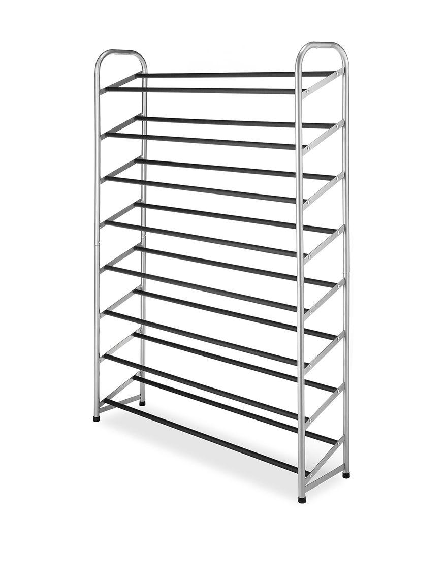 Whitmor Black Storage Shelves Storage & Organization