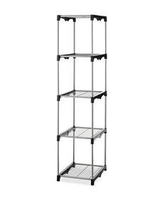 Whitmor Silver Storage Shelves Storage & Organization