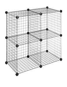 Whitmor Black Cubbies & Cubes Storage & Organization