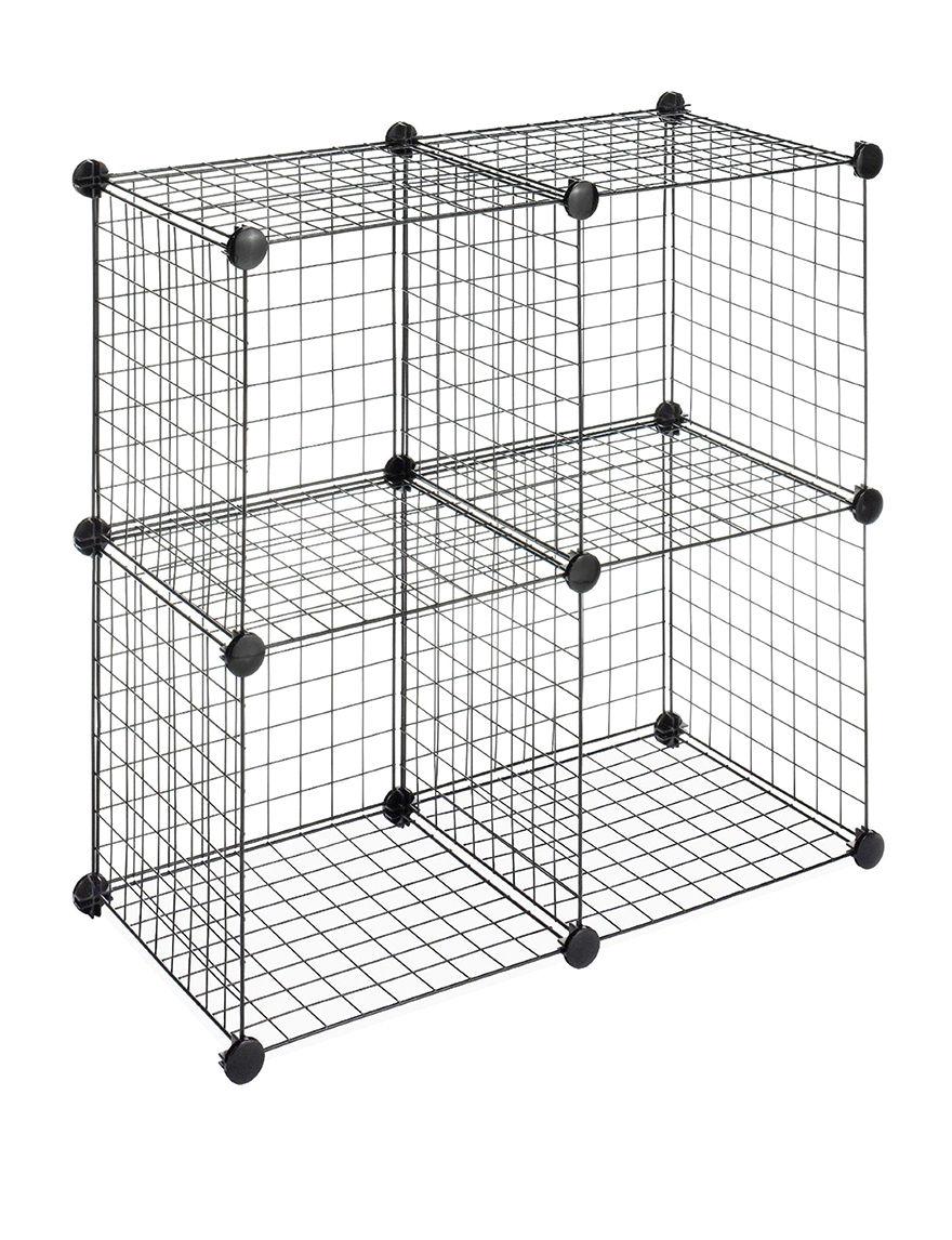Whitmor Black Cubbies & Cubes Storage & Organization