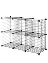 Whitmor 6-pk. Wire Storage Cubes Set