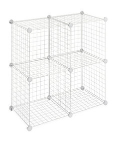 Whitmor White Cubbies & Cubes Storage & Organization