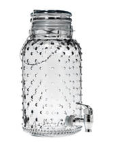 Home Essentials 1 Gallon Hobnail Beverage Server