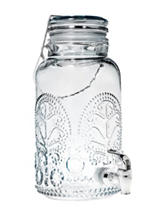 Home Essentials 1 Gallon Lace Beverage Server