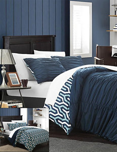 Chic Home Design Navy Duvets & Duvet Sets