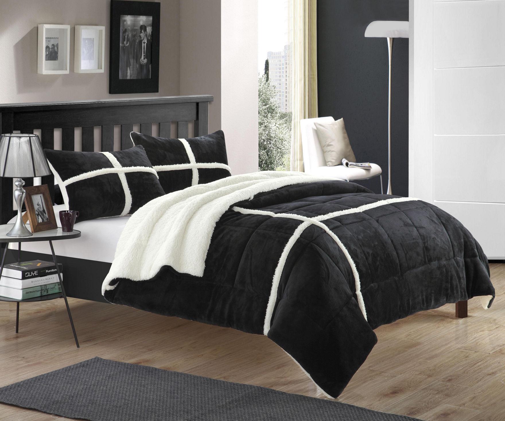 Wayfair Black Bedroom Sets Black And White Bedding For