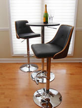 LumiSource Nueva Wenge Barstool