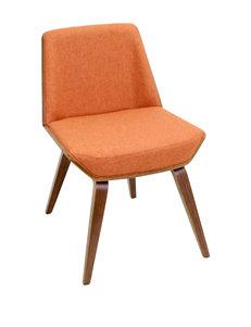LumiSource Corazza Walnut Chair