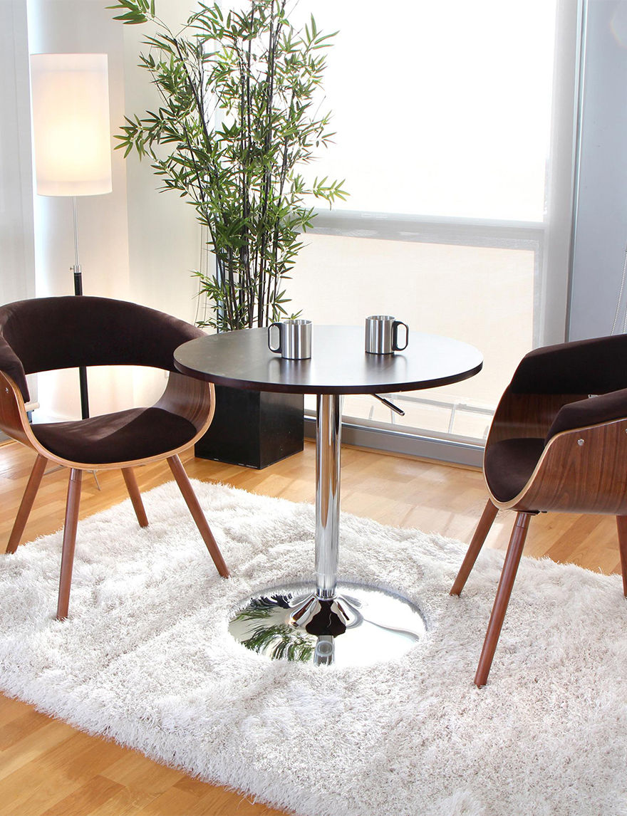 Lumi Source Espresso Kitchen & Dining Furniture