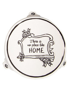 Home Essentials White / Silver Accessories