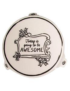 Home Essentials White / Silver Accessories Monogram