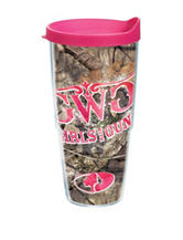 Mossy Oaks Pink Camo 24-oz. Tervis Tumbler