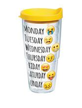 Emoji Days of The Week 24-oz. Tervis Tumbler
