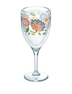 Boho Chic Floral Tervis Wine Glass