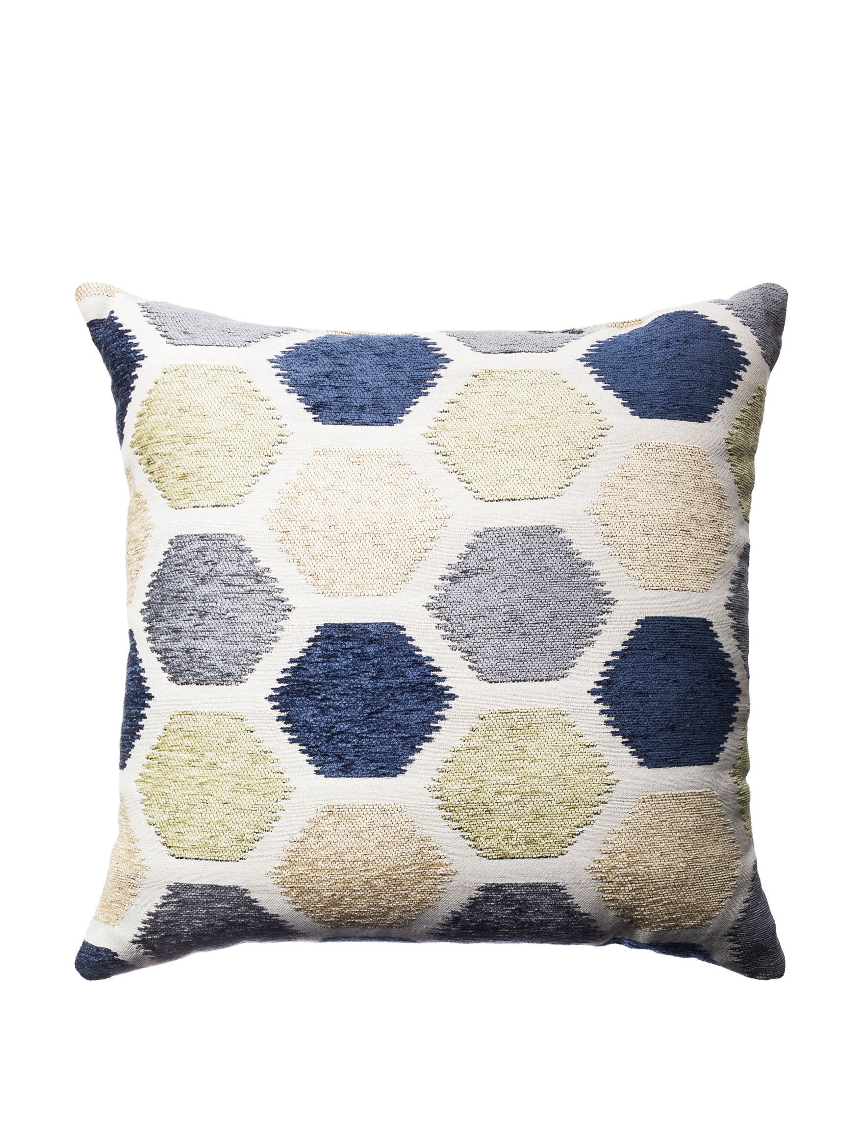 Home Fashions International Indigo Decorative Pillows Outdoor Decor