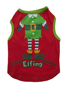 Petrageous Designs Just Elfing Around Dog Tee