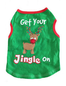 Petrageous Get Your Jingle On Dog Tee