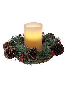 Apothecary 2-pc. Holiday Centerpiece Wreath