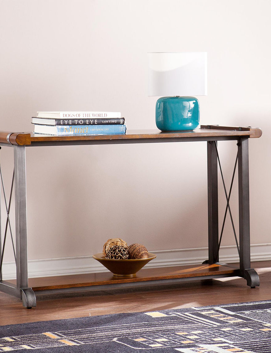 Southern Enterprises Brown TV Stands & Entertainment Centers Living Room Furniture