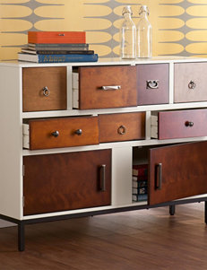Southern Enterprises Vanilla TV Stands & Entertainment Centers Living Room Furniture