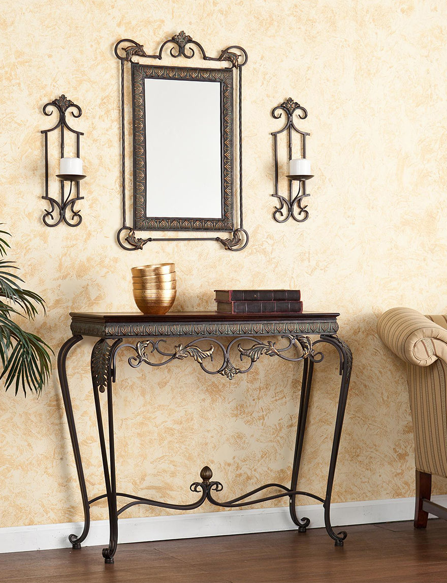 Southern Enterprises Bronze TV Stands & Entertainment Centers Living Room Furniture