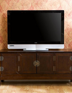 Southern Enterprises Espresso TV Stands & Entertainment Centers Living Room Furniture