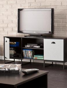 Southern Enterprises Black TV Stands & Entertainment Centers Living Room Furniture