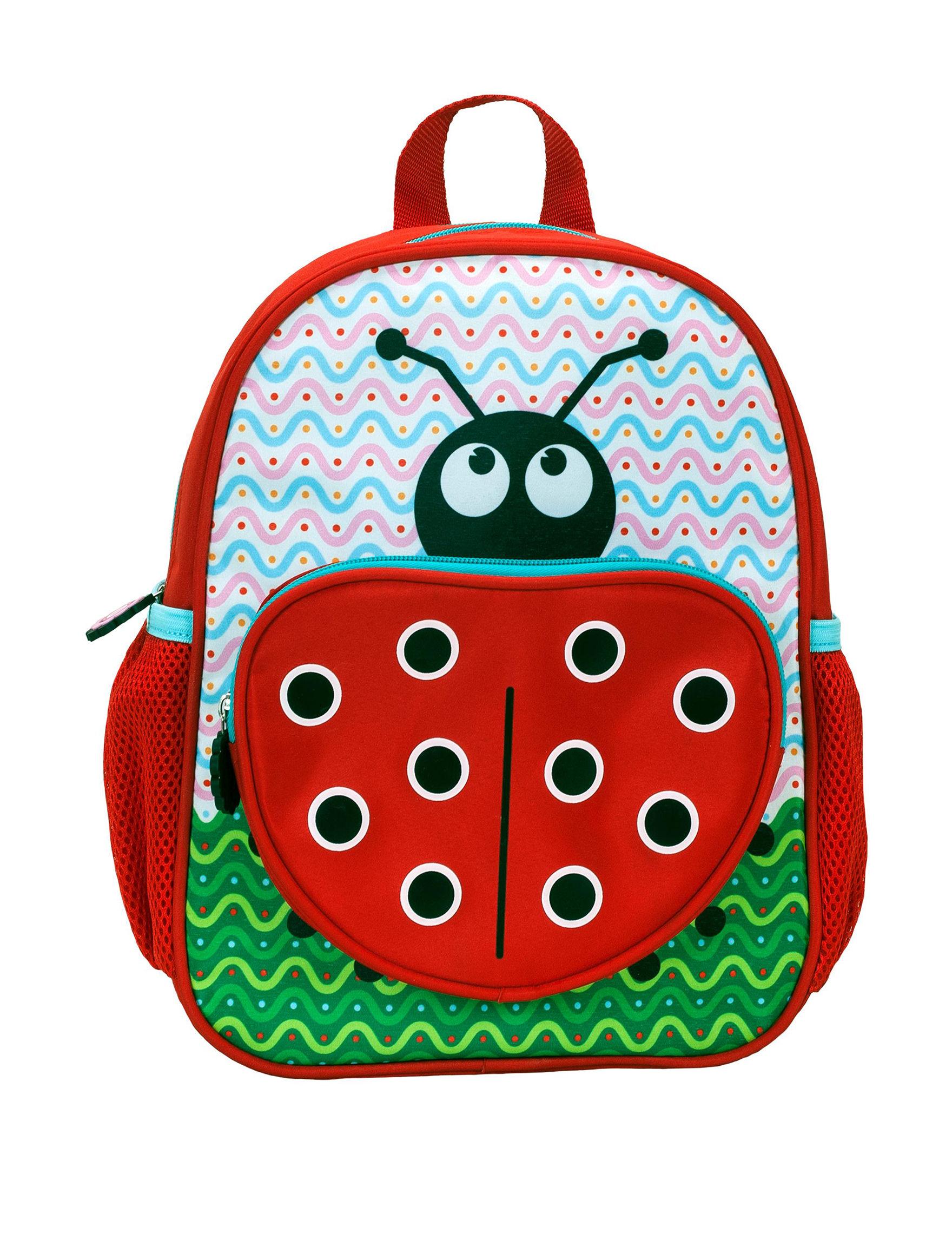 Rockland Red Bookbags & Backpacks