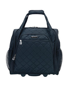 Rockland Melrose Wheeled Underseat Carry-on Bag