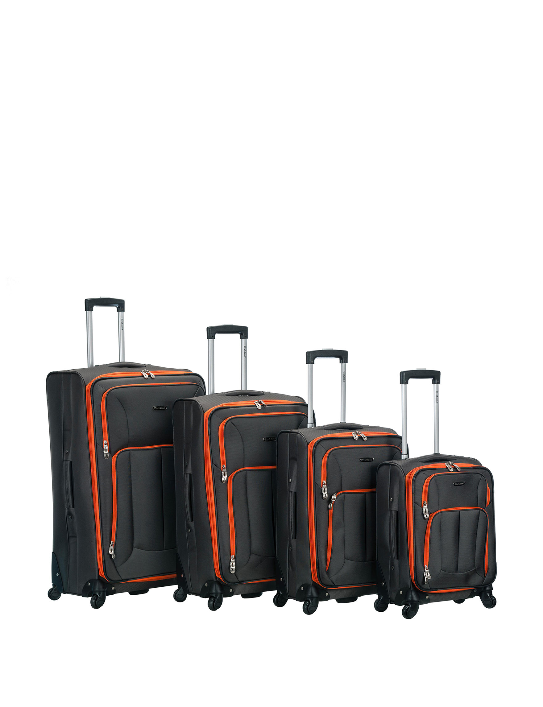 Rockland Charcoal Luggage Sets