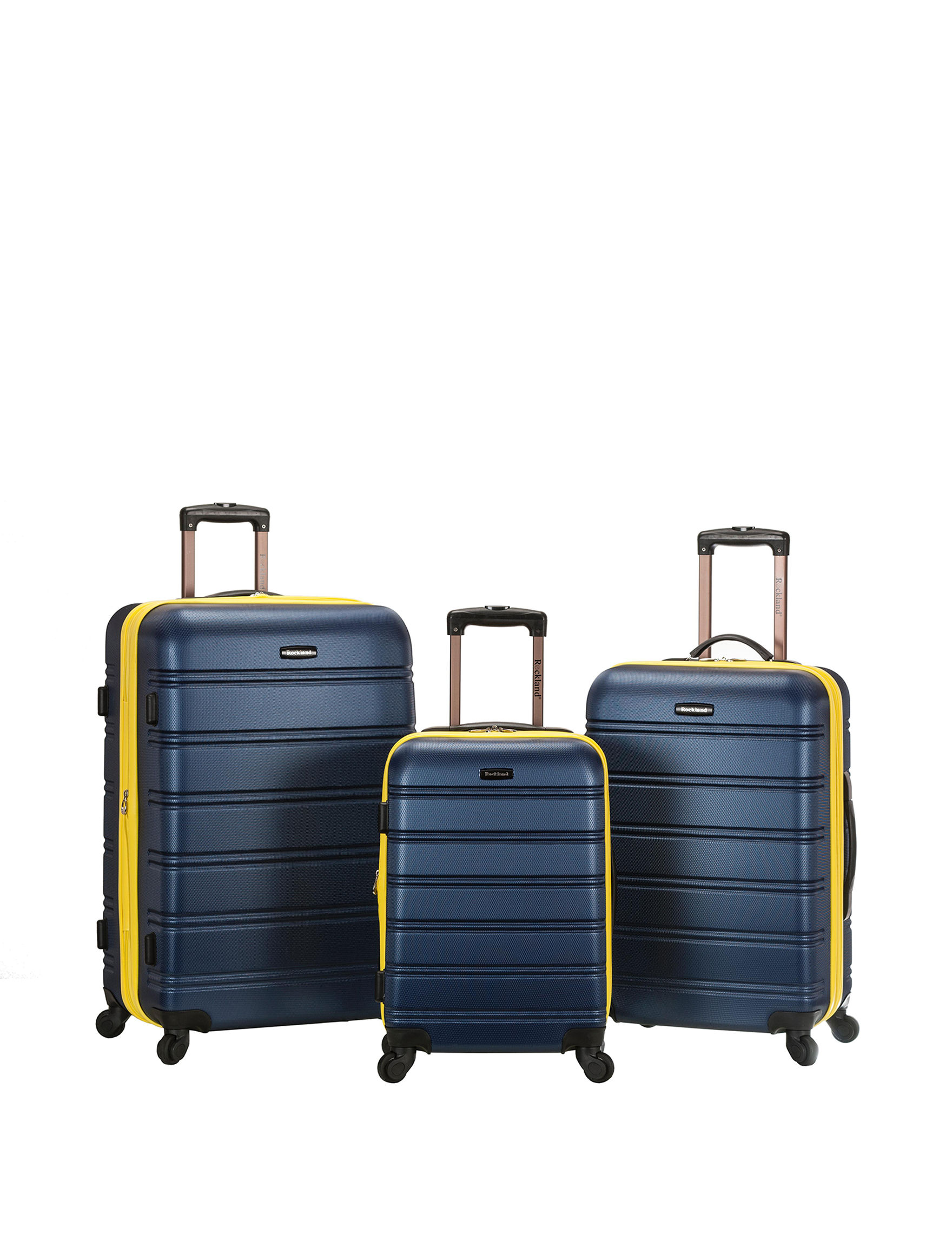 Rockland Navy Luggage Sets