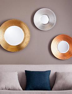 Southern Enterprises 3-pc. Dryden Metallic Wall Mirror Set