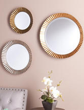Southern Enterprises 3-pc. Lucerne Round Wall Mirror Set