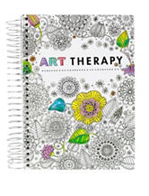 Tri Coastal Floral Art Therapy Notebook