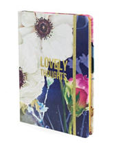 Tri Coastal Lovely Thoughts Flower Journal