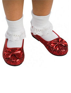 Wizard of Oz Ruby Ballet Slippers Costume Shoes – Girls